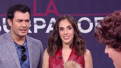 A Sandra Echeverría y Andrés Palacios los sorprendió una mujer trastornada por la historia de La Usurpadora