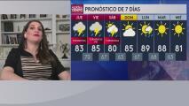 Se espera un descenso en las temperaturas con probabilidad de tormentas para el jueves