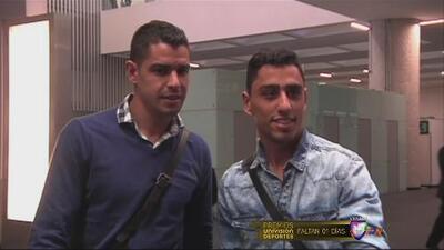 Jonathan Ramis y Gerardo Alcoba, contentos de llegar a Pumas