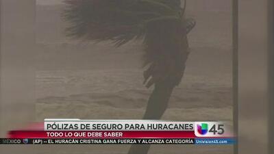 El seguro que debe tener en caso de huracanes
