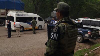 Así son los patrullajes y redadas de la Guardia Nacional en México para evitar el paso de migrantes