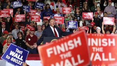 Trump y su muro de falsedades en El Paso