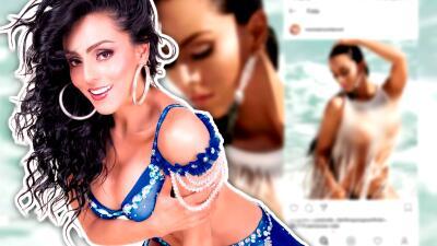 Ivonne Montero recibe críticas por posar 'topless' y contesta con una foto semidesnuda
