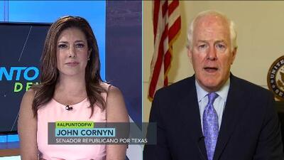 Al Punto DFW: El senador John Cornyn