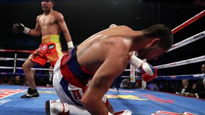 Jessie Vargas TKO a Sadam Ali por el título wélter de la OMB