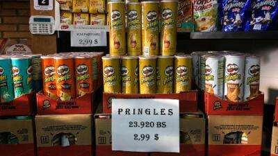 Un cereal que en Walmart cuesta $3.64 en Caracas se vende por $10: los precios se disparan en una Venezuela dolarizada