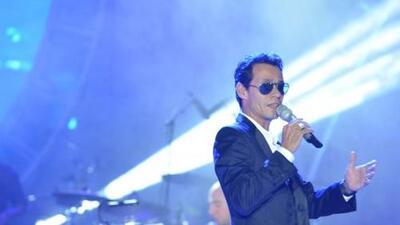 Euforia total causó Marc Anthony en el Festival Internacional de Boca del Río