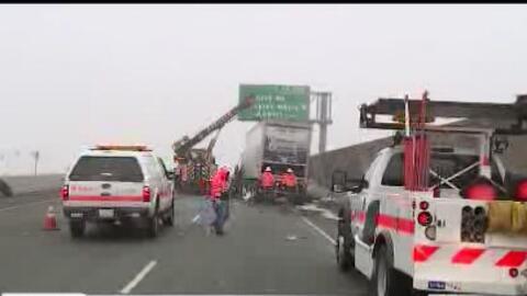 Muere persona en accidente vial en Stockton