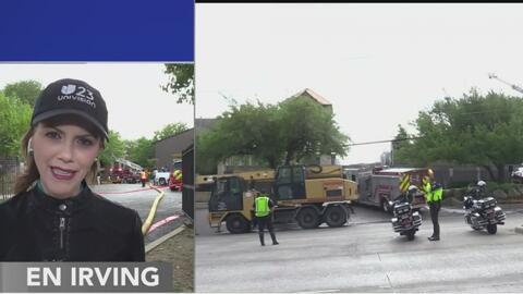 Registran incendio de tres alarmas en un complejo de apartamentos en Irving