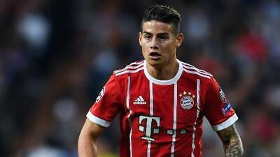 Estadísticas de James Rodríguez, el latino del año en la Bundesliga