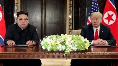 Opiniones divididas sobre la histórica cumbre entre Donald Trump y Kim Jong Un