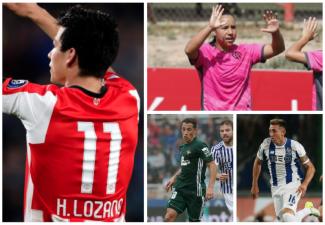 El 'Chucky' Lozano marcó el paso de los mexicanos en el fútbol exterior