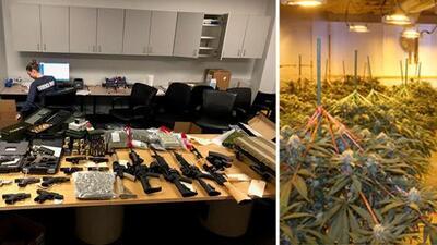 EN FOTOS: Incautan 35 millones de dólares en droga en el área de Atlanta