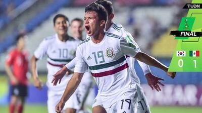 ¡México está en Semis! El Tri Sub-17 echó a Corea del Sur