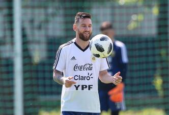En fotos: Lionel Messi se prepara con Argentina ante una joven y talentosa Francia