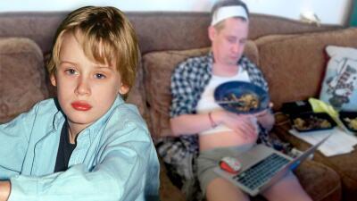 Macaulay Culkin muestra cómo luciría hoy 'Mi pequeño angelito' (tras saber que harán una nueva versión del filme)