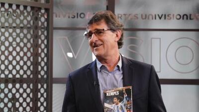 Mario Kempes presentó su libro: 'El Matador'