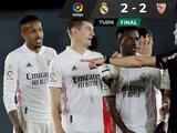 Real Madrid empata ante Sevilla y complica sus posibilidades de ganar LaLiga
