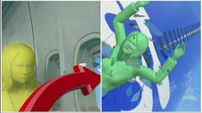 Revelan detalles del fallecimiento de la mujer succionada por una ventana durante el vuelo de la compañía Southwest
