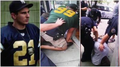 Despiden a policía neoyorquino involucrado en la muerte de Eric Garner