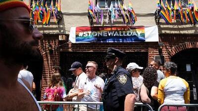 Recuerdan en Nueva York el medio siglo de los sucesos de Stonewall