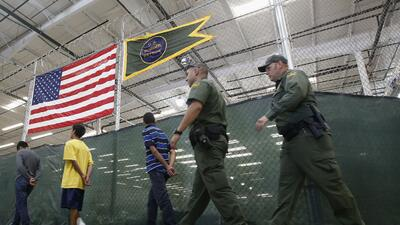"""Marked children"" flood the southern U.S. border"