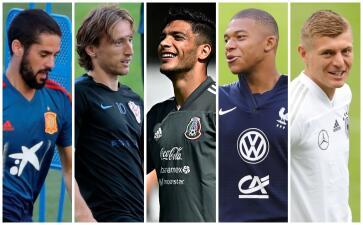 Fecha FIFA y UEFA Nations League: así entrenan los cracks del mundo con sus selecciones