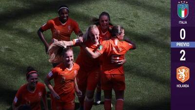 Holanda supera a Italia y avanza a las Semifinales del Mundial Femenil 2019