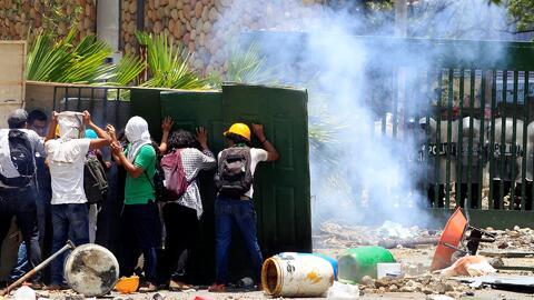 Protestas y represión en Nicaragua: al menos un muerto tras la reforma a la Seguridad Social