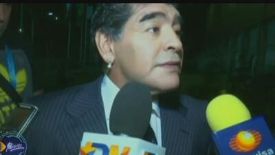 Maradona crítica la forma en que la FIFA reparte las ganancias que obtiene de los mundiales