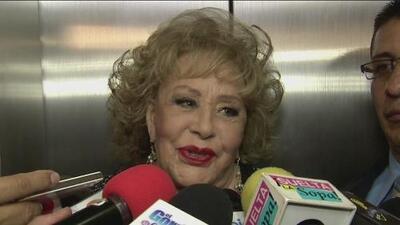 Silvia Pinal defiende a Luis Miguel y lo alaba como padre