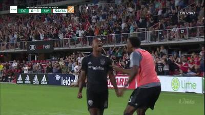 ¡GOOOL! Ola Kamara anota para D.C. United
