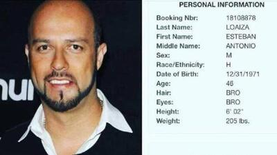 Detienen al viudo de Jenni Rivera, Esteban Loaiza, con más de 20 kilos de droga