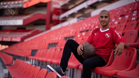 Cecilio Domínguez fue presentado con Independiente