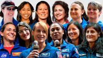 Huella femenina en la Luna: 12 finalistas compiten por convertirse en la primera mujer en pisar el astro