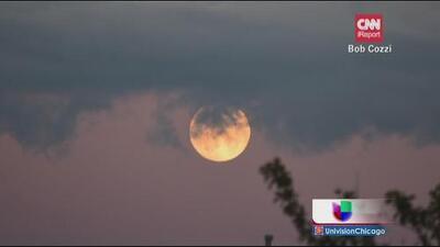 Imágenes del eclipse lunar del 8 de octubre