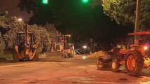 Se reporta el cierre de la avenida 17 y calle 24 en Allapattah por una ruptura de tubería