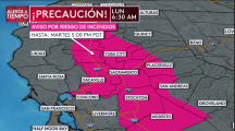 Emiten alerta roja por vientos sostenidos que facilitan la propagación de incendios