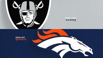 Highlights: Oakland Raiders 19-20 Denver Broncos | Semana 2