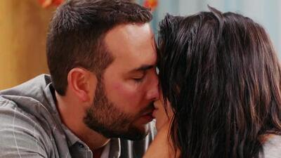 Rosario se besó con 'El Ángel', pero ella terminó rechazándolo
