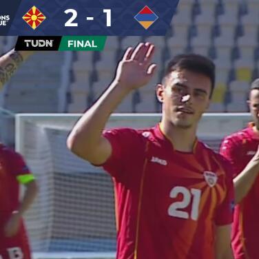 Macedonia aprovecha los errores de Armenia y se lleva el triunfo con marcador de 2-1
