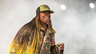 Missy Elliott makes music history