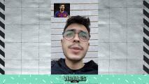 ¡Tiktoker imita a Messi, Suárez y hasta Florentino Pérez!