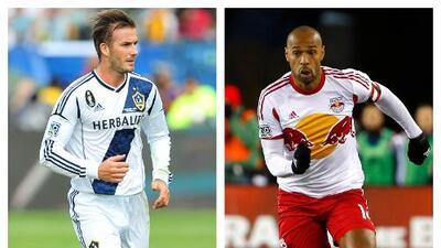 David Beckham y Thierry Henry, candidatos a ingresar al Salón de la Fama del Fútbol estadounidense