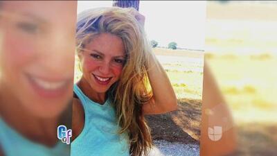 Gerard Pique grabó a Shakira tratando de tomarse el selfie perfecto