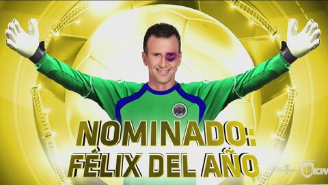 Hugo González, nominado a 'Félix del año'