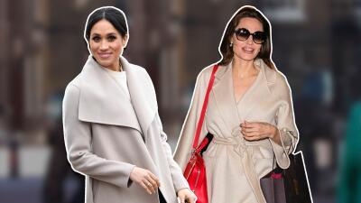 No puede ser casualidad: 11 veces que Meghan Markle se vistió como Angelina Jolie