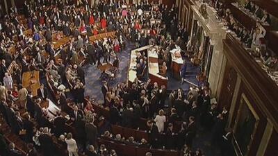 Senado anula el decreto de emergencia nacional del presidente Trump