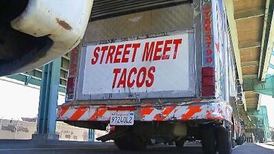 """El """"taco-drama"""": vecinos de San Francisco le quieren impedir a taquero que estacione su camión en el barrio"""