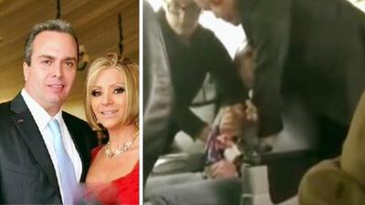 ¡Qué pena! El esposo de Daniela Castro armó bochornoso incidente en un vuelo